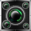 Sound System Background — Foto Stock