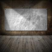 Interieur grunge kamer — Stockfoto