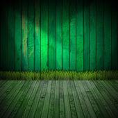 Interior Green Room — Stock Photo