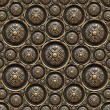 Brass Background with Classic Ornament — Stock Photo #23556461