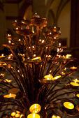 Church Votive Candles — Stock Photo