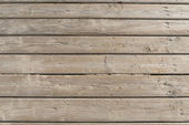 Weathered Wooden Boardwalk on Sand — Stock Photo