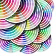 Abstract Background Color Palette - Circles — Stock Photo #24160677