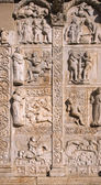 Bas-Reliefs, Basilica of San Zeno - Verona - 12th century — Stock Photo