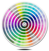 Pantone Color Palette - blur circle — Stock Photo
