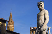 Fontana di Nettuno at Florence Italy (1563-1565) — Stock Photo