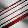 Red and Metal Business Background - Diagonals — Stock Photo