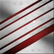 Stock Photo: Red and Metal Business Background - Diagonals