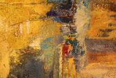 绘画的抽象炫彩背景 — 图库照片