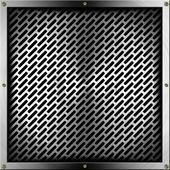 Metal Grid — Stock Photo