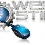 Web Hosting Metal Gear — Stock Photo