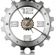 Gear Metallic Clock — Stock Photo #25101107