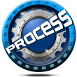 Process Icon — Stock Photo #25101201