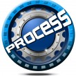Process Icon — Stock Photo