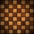 Wooden Chess Board - Stockfoto