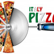 Stock Photo: Italy Pizzon Cutter for Pizza