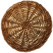Background with Texture of Woven Wicker — Foto Stock