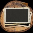 Wooden Photo Frame — Stok fotoğraf