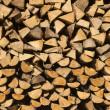 Pile of Chopped Firewood — Stock Photo