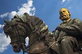 Estatua de giuseppe garibaldi - verona italia — Foto de Stock