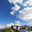Stock Photo: Panoramic View of Monte Lussari - Friuli Italy