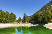 Lago del Predil - Friuli Italy — Stock Photo