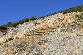 Cave del Predil - Friuli Italy — Stock Photo