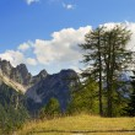 Постер, плакат: Julian Alps and Cima Cacciatori Friuli Italy