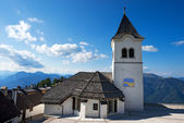 Sanctuary of Monte Lussari, Friuli Italy — Stock Photo