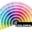 Pantone Color Palette - Semicircle — Stock Photo