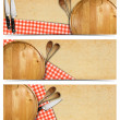 Set of Cooking Banners — Stock Photo #35036917