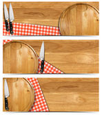 Set of Cooking Banners — Foto Stock