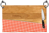 Cutting Board - Signboard with clipping path — Stock fotografie