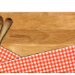 Cutting Board - Signboard with clipping path — Stock Photo #35043175