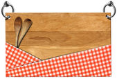Cutting Board - Signboard with clipping path — Stockfoto