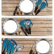 Spearfishing Three Banners - N1 — Stock Photo