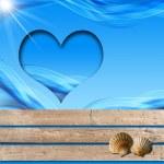 I Love Sea Holidays — Stock Photo #35496173