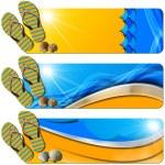 Three Sea Holiday Banners - N7 — Stock Photo #35892977