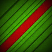 Red and Green Velvet Abstract Background — Stock Photo
