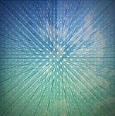 Vintage Sunbeams Abstract Background — Stock Photo