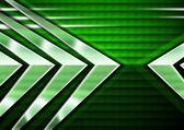 Abstrakt grön bakgrund med pilar — Stockfoto