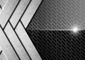 Dark Metal Abstract Background — Stock Photo