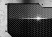 Metal Background with Screws — ストック写真