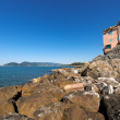 Gulf of La Spezia - Liguria Italy — Stock Photo