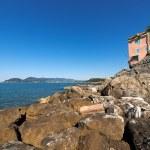 Gulf of La Spezia - Liguria Italy — Stock Photo