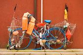 Fishing Bike - Caorle Italy — Stock Photo