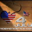 4th of July - Independence Day — Stock Photo #47104329