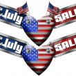 4th of July - Sale — Stock Photo #47217797
