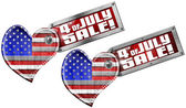 4th of July - Sale — Stock Photo