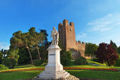 Monument of Giorgione Castelfranco Veneto - Italy — Stock Photo